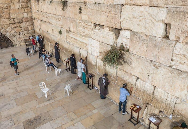Западная Стена, Стена Плача или А-Котель